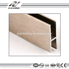 Profilé en aluminium d'extrusion h de prix raisonnable de l'usine de porcelaine