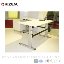 Own safe function height adjustable standing desk in wireless controlling system