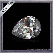Brilliant Pear Shahpe CZ Gemstone