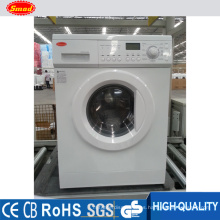 Household front loading automatic drum washing machine with dryer