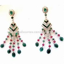 Fashion Stud Earrings, Various Styles Available