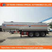 3 Axles Chemical Liquid Tank Trailer