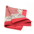 Wool Men's Suit Pocket Square Fold