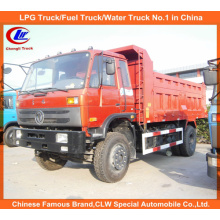 Mini Dongfeng 4 * 2 Dump Truck 8tons für Ziegel und Sand