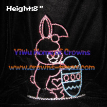 6inch Rabbit and Easter Egg Easter Pageant Crowns