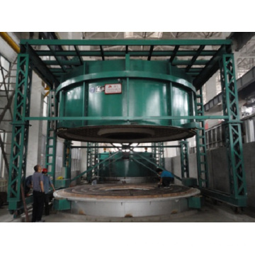 Bell type resistance furnace