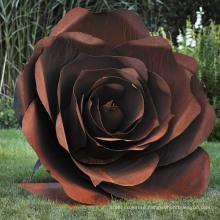 Large Modern Abstract carton steel garden sculptures for sale