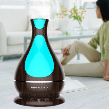 Dropshipping Gỗ Điện Essential Oil Diffuser 400 ml