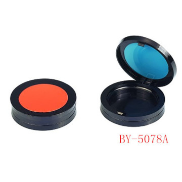 Concise Orange Compact Powder Container