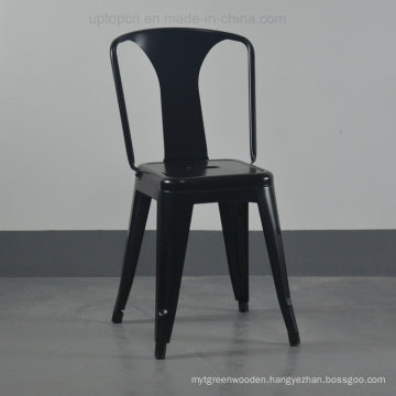 Industrial Classical Metal Black Dining Chair for Cafe Restaurant (SP-MC081)