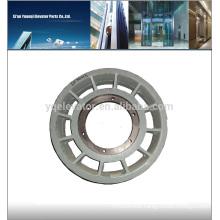 Mitsubishi elevator wheel, Elevator guiding pulley, elevator pulley wheel