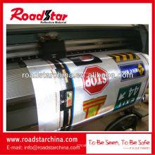 Werbung grade Reflexfolie für den Digitaldruck