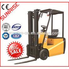 hohe Qualität billig LKW-1500kg elektrische Gabelstapler 1.5ton Tragfähigkeit