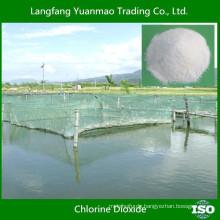 Umweltfreundliche Desinfektionsmittel Fungizidchemikalien für Aquakultur / Alibaba Bestseller / Chlordioxid
