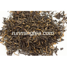 Leite yunnan chá preto