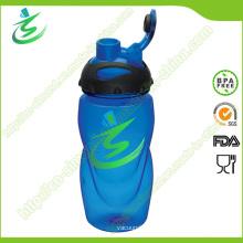 550 Ml Contour Shape Flip-Top Cap Sports Bottle