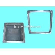 Shenzhen oem die casting aluminum alloy sliding door frames