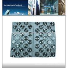 Кнопка лифта Mitsubishi, переключатель кнопок лифта, кнопка сенсорного лифта Mitsubishi