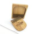 ФК новый дизайн горячий продавать карманные бамбука мужчин борода расческа
