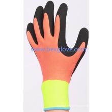 Bon gant de travail robuste, double revêtement