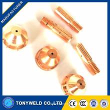 China fabricante xingtai160 electrodo de corte de plasma y boquilla