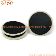 Black Flocking Powder Puff With Factory Price