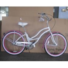 """Задний заводской Внутренний 3 скорости 26"""" красивая девушка на пляже велосипедов (ФП-БКБ-C041)"""