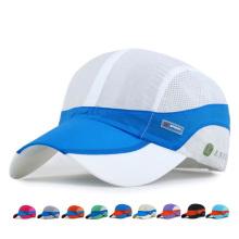 Erwachsene Mode Anti UV Schnell Trocknende Baseballmütze (YKY3428)