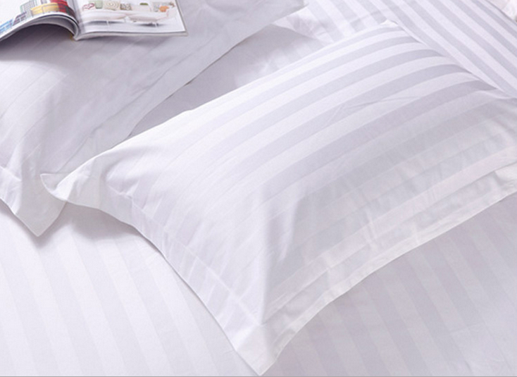 Sateen Stripe Pillow Case