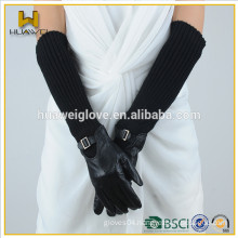 Premium Sheepskin Leather Gloves Long for Women Multi-Function Long Leather Gloves with Low Price