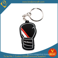 Factory Price High Quality Customized Brand 2 D Soft PVC Key Chain From China