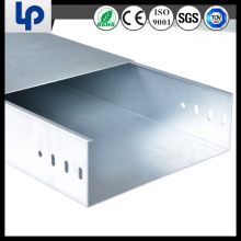 solid gi metal steel cable tray with lid with ce rohs tuv sgs cable certificated