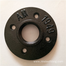 pipe fittings names 4 holes floor flange