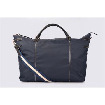 Nylon Expandable Drop Bottom Weekender Satchel Duffel Bags