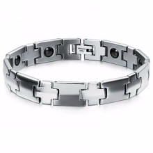 Fibo stainless steel time permanent multi tool magnetic bracelet jewelry