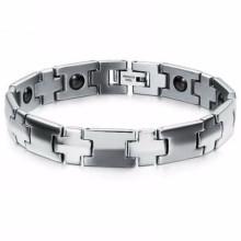 Fibo aço inoxidável tempo permanente multi ferramenta pulseira magnética jóias