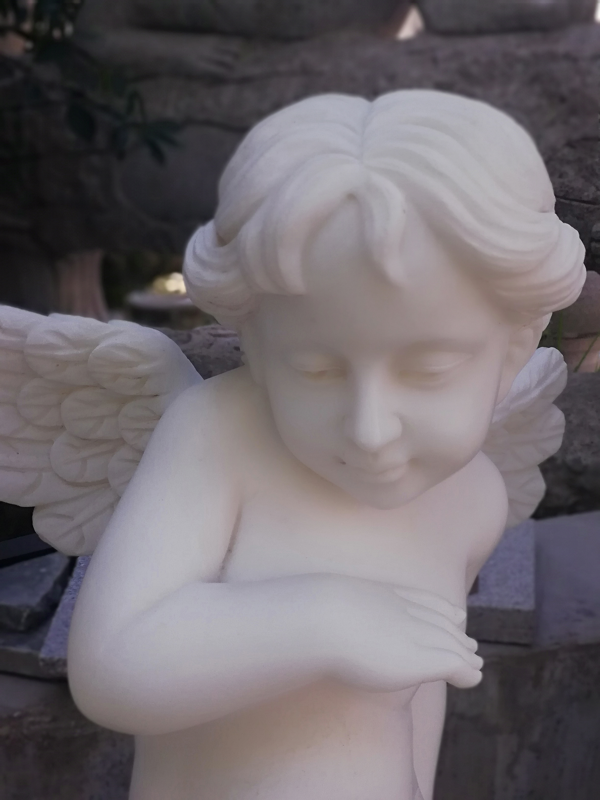 outdoor angel statues