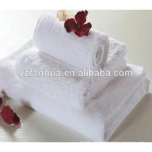 Fabricantes de suministro calidad algodón toallas personalizadas Hotel baño productos