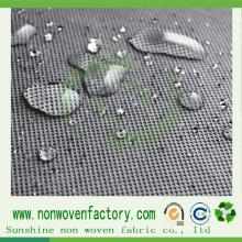 No tejido a prueba de agua del polipropileno de la tela no tejida