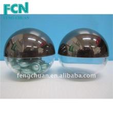 Kosmetikverpackungsbehälter Kapsel Jar 70mm Kuppel geformt