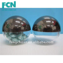 Cosmetic packaging container Capsule Jar 70mm dome shaped