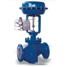 Válvula de controle pneumática do forro de PTFE (GHTF)