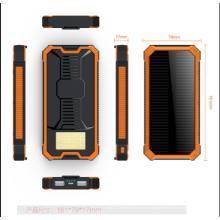 Cargador solar original del banco del poder del teléfono móvil de la fábrica con patente