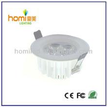Lámpara de techo de led de alta potencia 4 * 1w
