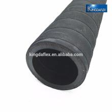 Personnalisez le polyester renforcé par carburant de logo résistant à l'huile de carburant nbr enveloppé des fournisseurs de tuyau de carburant / huile