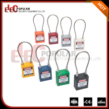 Elecpular Новые продукты 2017 Custom Brands Cable Shackle Long Body Safety Padlock CE ROHS OSHA СЕРТИФИКАЦИЯ