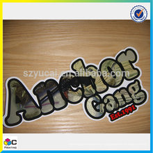 Customer design security paper roll sticker