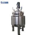 Tanque de mistura do suco industrial químico da farmácia com agitador