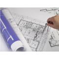 САПР Печать чертежей ПЭТ-пленка Карандашный рисунок