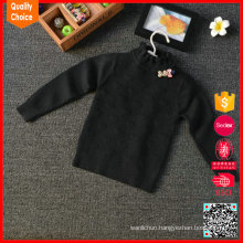 Wholesale fashion hand knit sweater designs for girls